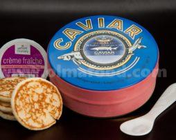 White Sturgeon Caviar Gift Set