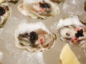 Oysters-with-Caviar